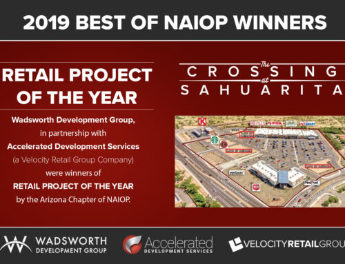 Wadsworth Development Group and Accelerated Development Services Winners of NAIOP's Retail Project of the Year
